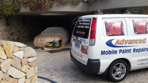 Scratch and bumper repair in the comfort of your own home or office